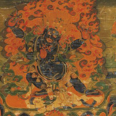 Insegnamento e iniziazione su Shri Vajrapani Buthadamara